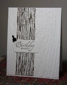 Masculine CAS Birthday by CAKath - Cards and Paper Crafts at Splitcoaststampers