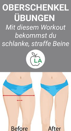 Mit diesen Übungen wirst du am Oberschenkel abnehmen und deine Beine gezielt st… With these exercises you will lose weight on the thigh and tighten your legs. Learn what to look out for when exercising to perfectly shape your thighs… Continue Reading → Fitness Workouts, Fitness Motivation, Easy Workouts, Fitness Diet, Health Fitness, Enjoy Fitness, Fitness Women, Fitness Routines, Exercise Routines