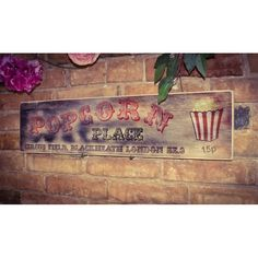 Fairground Signs And Carnival Wall Decorations Vintage Walls, Vintage Signs, Wall Signs, Signage, Cool Designs, Carnival, Christmas Gifts, Wall Decor, Train
