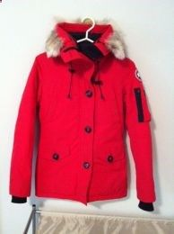 Available @ TrendTrunk.com Canada Goose MonteBello Parka Red Outerwear. By Canada Goose MonteBello Parka Red. Only $408.00!