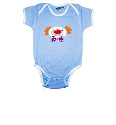 Baby clothes Clown Multicolor on La Tostadora Store by www.spitspotart.com