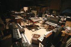 Image result for Jean Michel Jarre's private studio