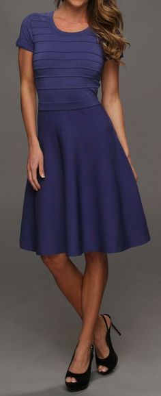 Fit-and-flare dress at 6pm.com