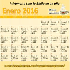 Soy una Princesa Guerrera: ✎Vamos a Leer la Biblia en un año