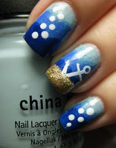 """Very creative with the gold glitter being the bottom of the ocean. :)"" ~ Polishpedia.com"
