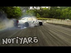 Destroying rubber on a touge-style track in Japan 峠ドリフトとそっくり!スポーツランド山梨ツインドリフト。 - YouTube