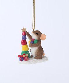 Look at this #zulilyfind! Stacking Mackenzie Mouse Ornament #zulilyfinds