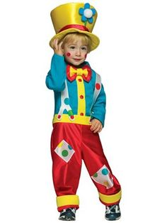 Colorful Clown Costume | Wholesale Infant/Toddler Halloween Costumes for Infant/Toddler  21.90