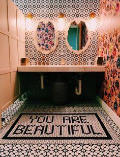 Home Interior Plants Bathroom Tile! House Design, House, Interior, Home, House Inspo, House Rooms, House Styles, House Interior, Bathroom Design