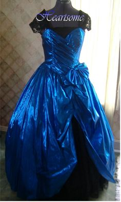 Vintage 80s Belle Masquerade dress prom costume victorian This chic has all kinds of gowns and costumes nice.