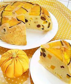 炊飯器で♪簡単かぼちゃおからケーキ