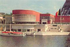 Belgian pavillon @ Exposition Universelle Paris 1937   Architects : Van de Velde - Eggericx - Verwilgen - Schmitz