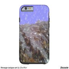 Strange unique art tough iPhone 6 case