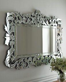 """H4KWE """"Giorgia"""" Venetian-Style Mirror"""