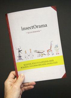 Kleine encyclopedie der weinig voorkomende insecten.
