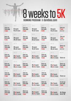 8 weeks to 5K