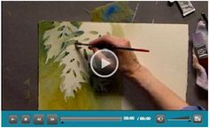 20 Hours of Free Watercolor Lessons – Choose from more than 120 quick, how-to video demonstrations by some of the best known watercolor artists in the world. The videos are produced by Jerry's Artarama and offered for free as a way of introducing you to their web site and line of art supplies. (Photo: Working in the Negative Video by Linda Kemp)