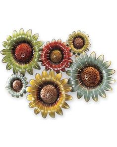 Expressions Catalog Field Of Flowers Metal Wall Art from ...