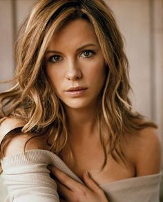Kate Beckinsale Ombre Hair Color