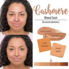 Younique Cashmete Liquid Powder Cream Foundation