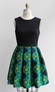 Floral Skirted Dress http://shopsubstance.com/