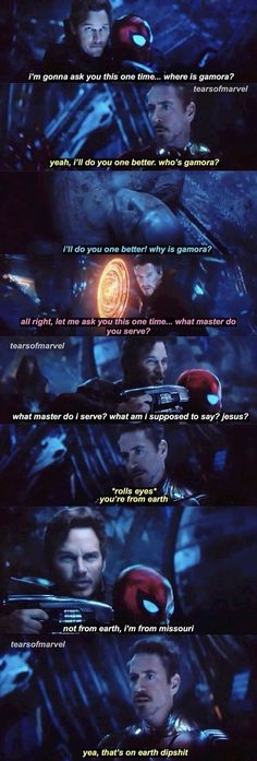 So funny frame of Avengers infinity warYou can find So funny and more on our website.So funny frame of Avengers infinity war The Avengers, Avengers Humor, Marvel Jokes, Funny Marvel Memes, Dc Memes, Memes Humor, Marvel Facts, Avengers Quotes, Funny Humor