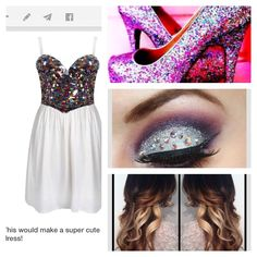Cute for prom if you like sparkles then like this pic