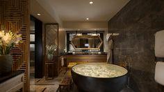 Waldorf Astoria Beijing Hotel, China - Hutong Villa Master Guest Room Bathroom
