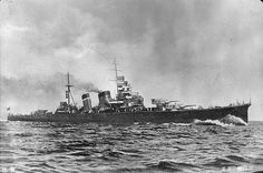 Cruiser Aoba soon after completion, circa 1927-1929