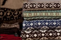 M.V. Collection Wool sweaters. Scotland.