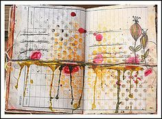 Love layout... Link opens lots of journal pages on flickr