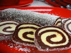 Nepečená kakaová roláda - Recepty na každý den