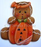 Lil Pumpkin Gingerbread Girl e-Pattern