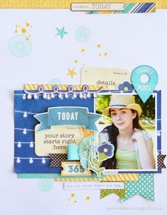 Today Layout by Leanne Allinson