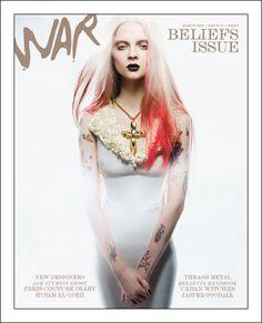 War Magazine - 1st issue was focused on Beliefs.