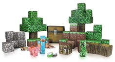 Minecraft Paper Craft Overworld Deluxe Pack: Amazon.co.uk: Toys & Games