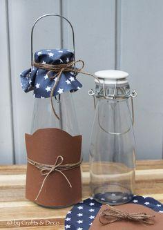 Flasche+mit+Bügelverschluss+von+Crafts+&+Deco+auf+DaWanda.com