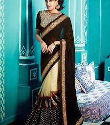 30 Best Embroidered Sarees Images Work Sarees Embroidery Saree