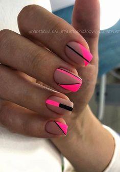 Likes, 6 Kommentare - Manicure / Nails / Master .- Likes, 6 Kommentare – Manicure / Nails / Master … – Unghiuțe – # Unghiuțe # Manicure # Master - Cute Acrylic Nails, Matte Nails, Fun Nails, Neon Nail Art, Pretty Nails, Square Nail Designs, Short Nail Designs, Matte Nail Designs, Short Square Nails