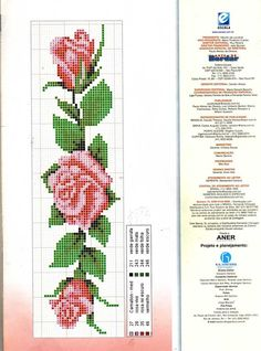 Layette Cross Stitch by Nubia Cross Stitch Bookmarks, Cross Stitch Cards, Cross Stitch Rose, Cross Stitch Borders, Cross Stitch Flowers, Cross Stitching, Cross Stitch Embroidery, Cross Stitch Patterns, Bead Loom Patterns