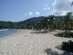 Beach of Labadee Haiti was beautiful