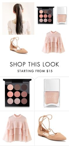 """""""Simply Nude"""" by zero-p on Polyvore featuring Mode, MAC Cosmetics, Nails Inc., WithChic und Jennifer Lopez"""