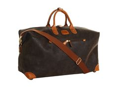 Bric's U.S.A. Life - Micro-Suede Large Holdall Travel Bag