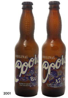 Coors football bottles