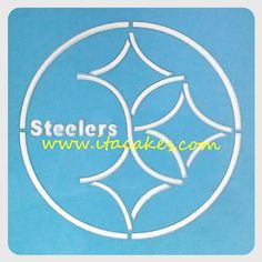 #Pittsburgh #Steelers #Stencil http://www.itacakes.com/product/pittsburgh-steelers-stencil/
