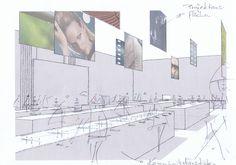 Exhibition sketch - rolf pauw