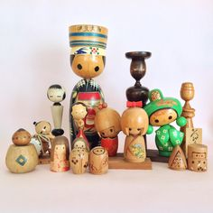 The shop has been restocked! You can shop them now  Link in bio. This has been a busy Sunday! #kokeshi #kokeshidoll #folkeshi #etsyshop #vintage #vintagefind #shopvintage #dolls #figurine #woodentoys #wood #japan #fromjapan #homedecor #smallgift #collector #collectible #mcm #cute