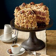 Mama's German Chocolate Cake | MyRecipes.com
