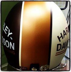old school harley davidson helmet2