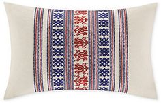 "Echo Cozumel Embroidered 12"" x 18"" Decorative Pillow"
